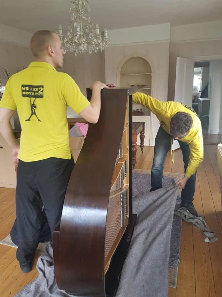 Removals Bristol Piano