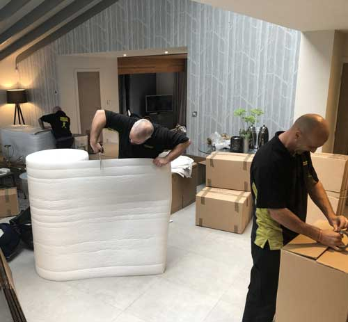 Packing a Home Removals Bristol